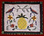 Pineapple with Birds kit and Pattern